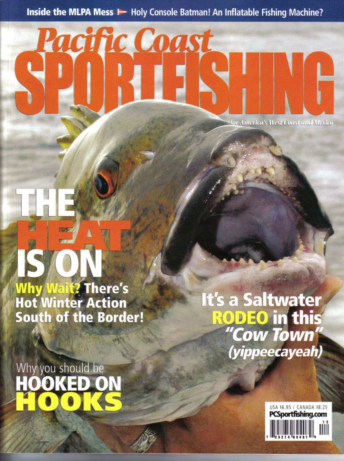 About us for Pacific fishing magazine